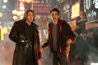 "Nicolas Cage and Jay Baruchel in ""The Sorcerer's Apprentice."""